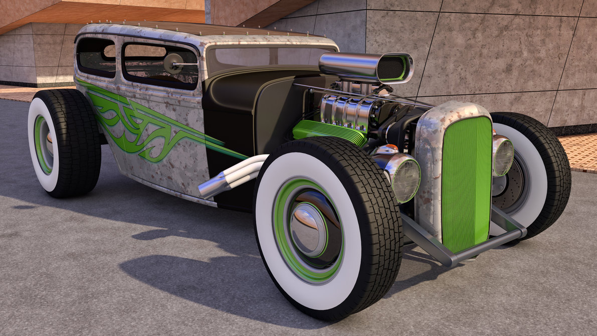 Ford Rat Rod by SamCurry 1191x670