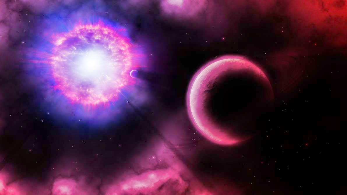 Supernova Explosion Wallpaper HD   Pics about space 1191x670