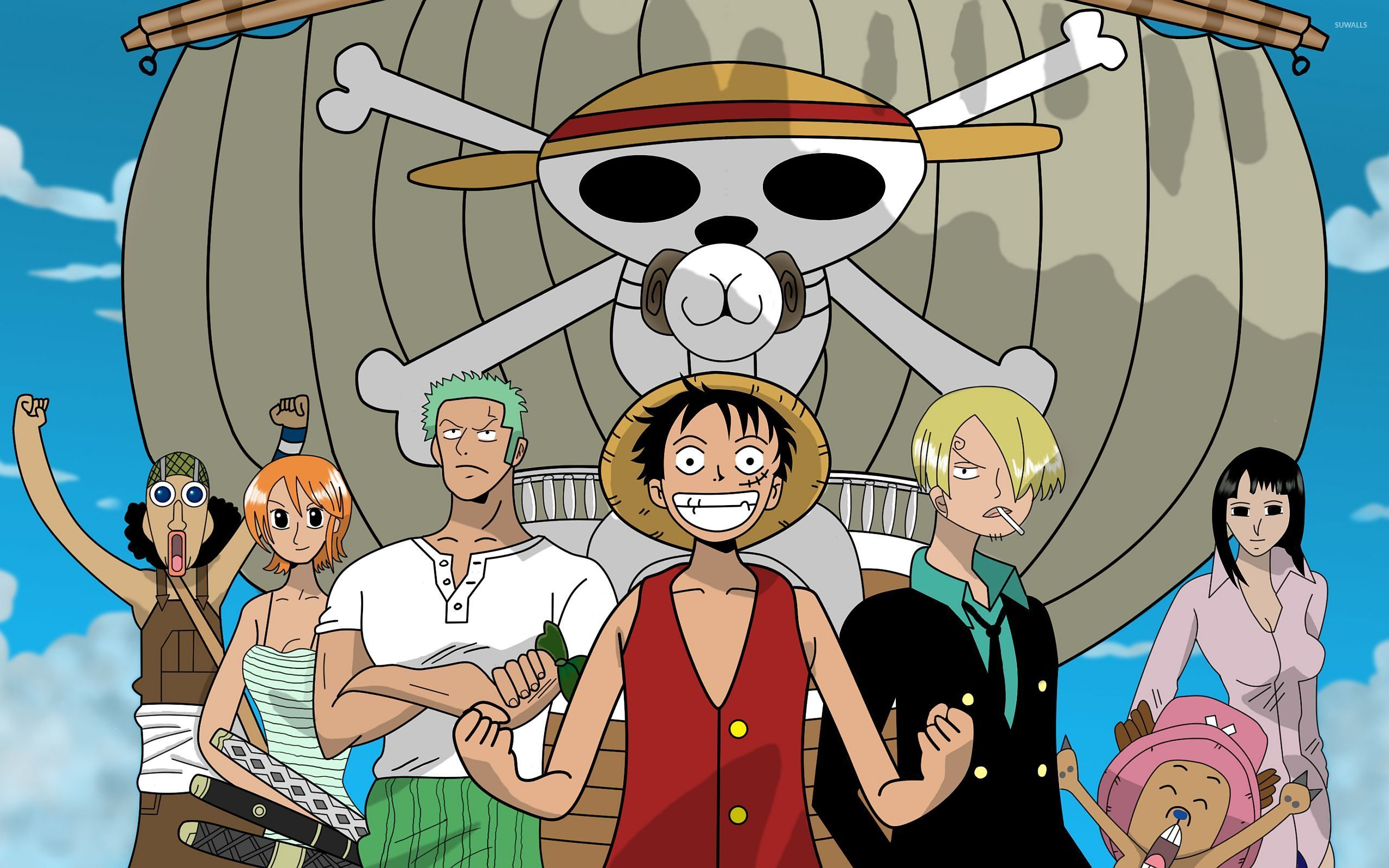 One Piece wallpaper 1366x768 1366x768