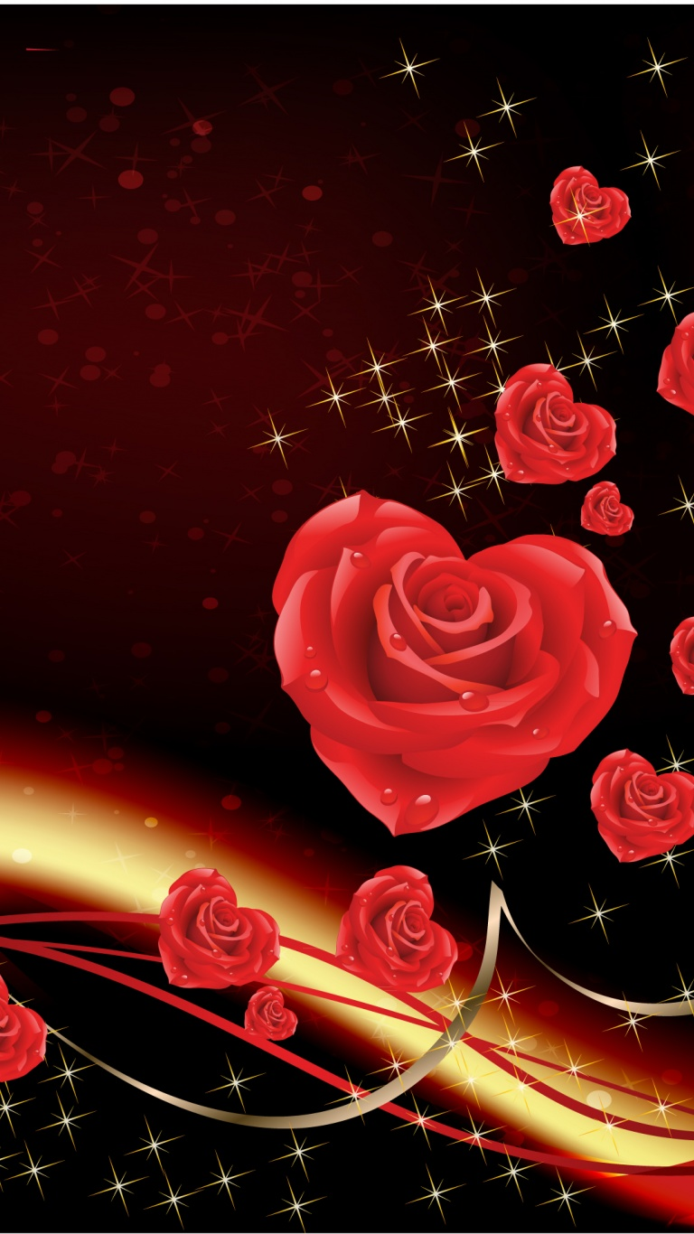 768x1366 Love bringing roses Surface rt wallpaper 768x1366