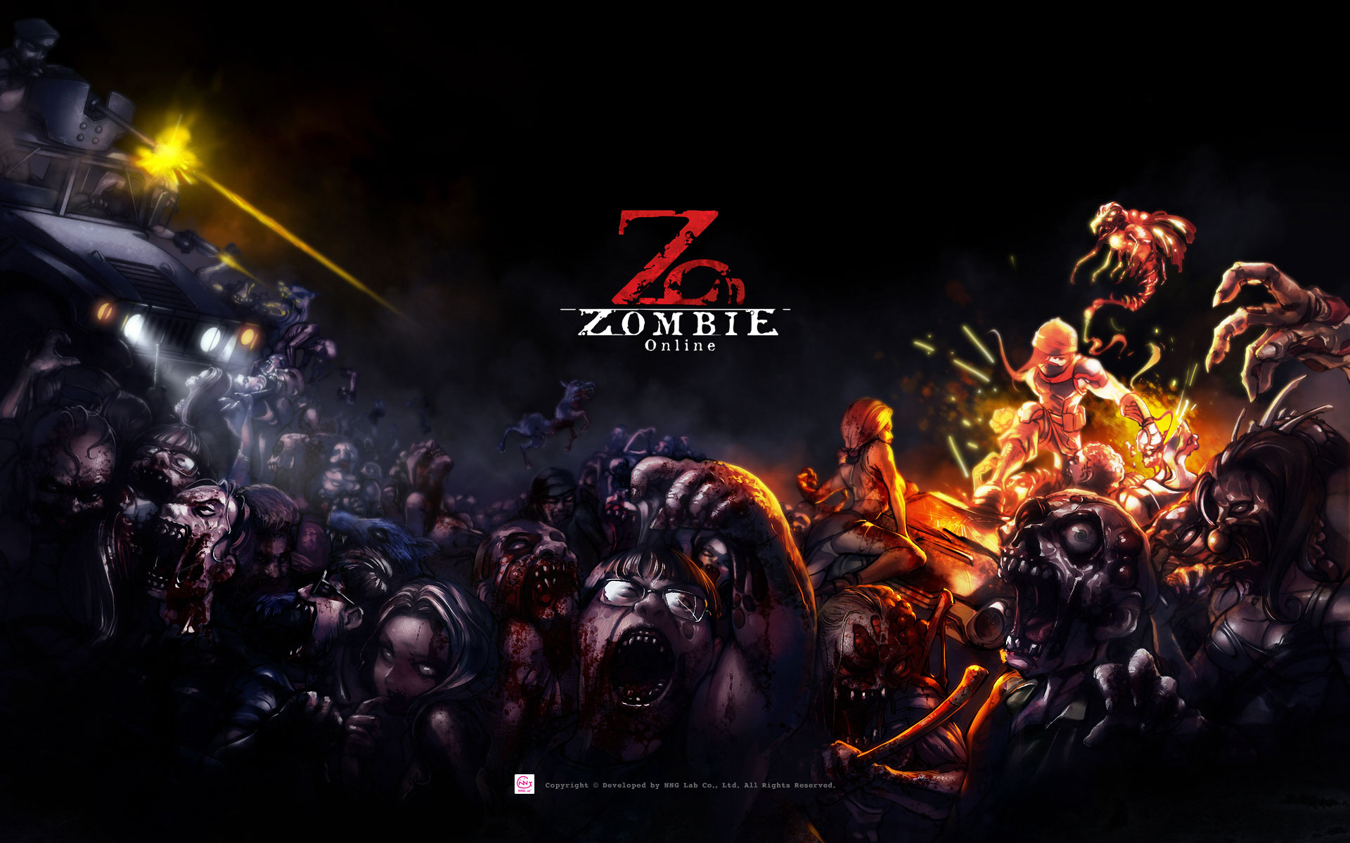 Hd wallpaper zombie - Zombie Online Wallpapers Hd Wallpapers