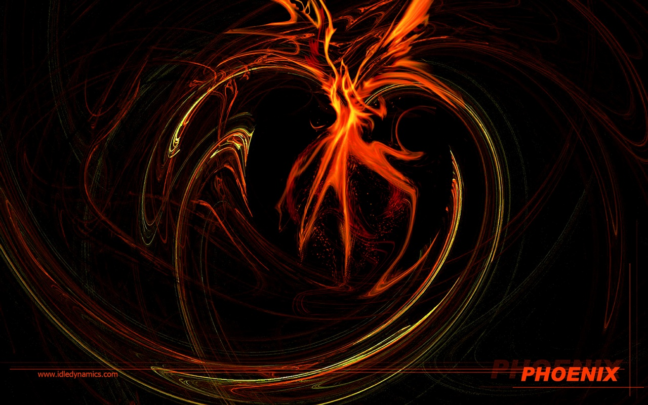 Phoenix Bird Desktop Wallpaper PicsWallpapercom 1280x800