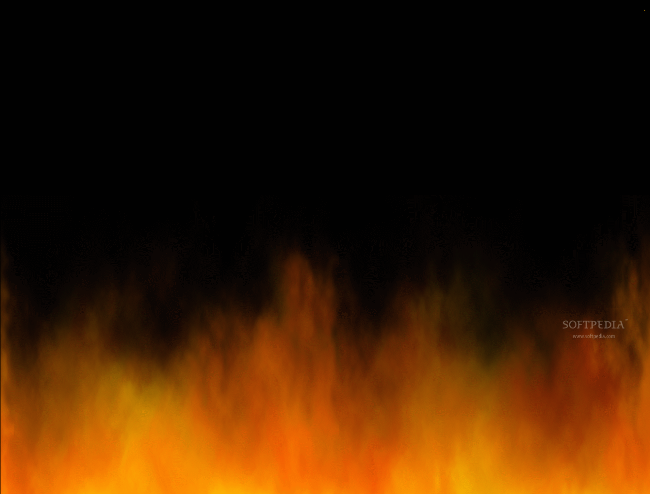 Wall of Fire Animated Wallpaper screenshot 1   This is how the 1280x973