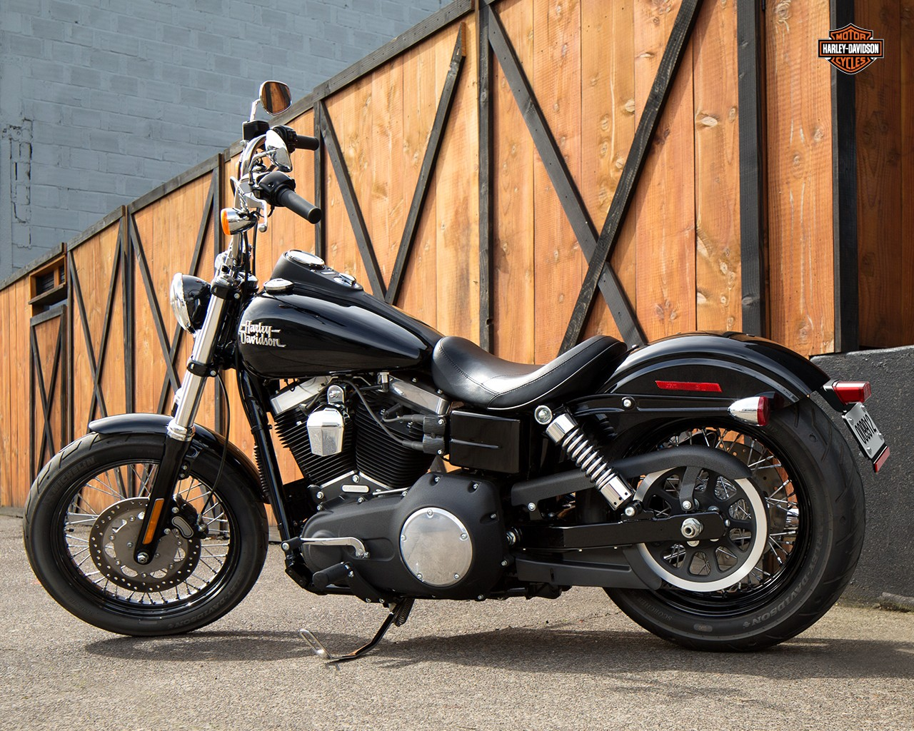 2015 Dyna Street Bob FXDB Bobber Harley Davidson Australia 1280x1024