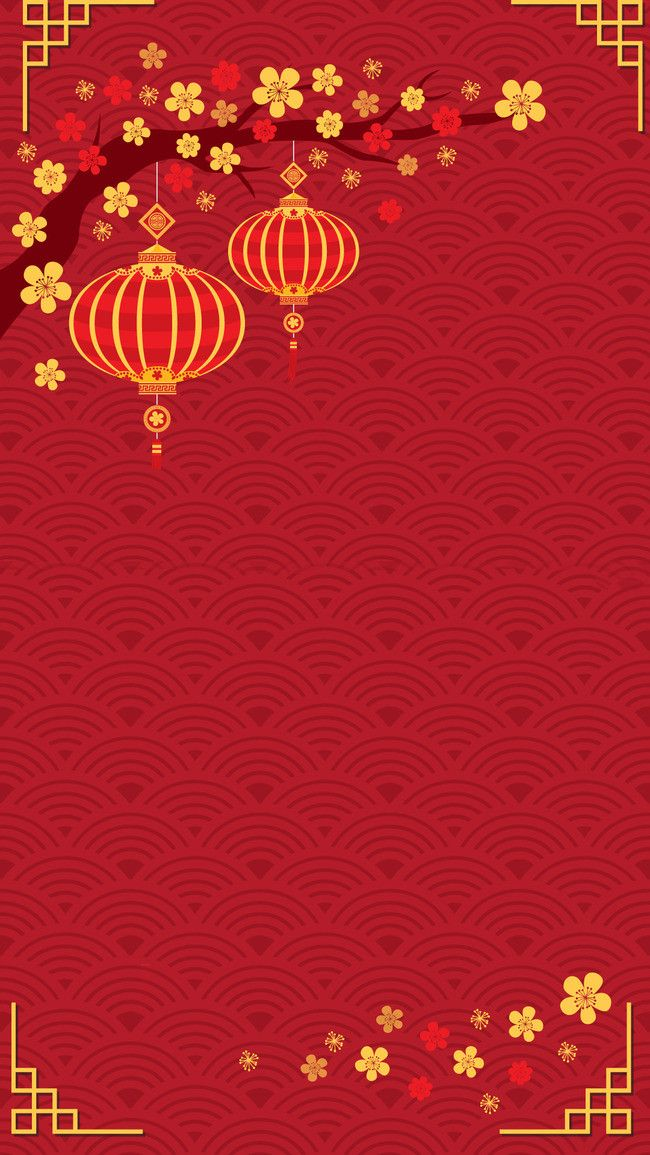 Chinese New Year Festive Background Psd Layered in 2020 Chinese 650x1155