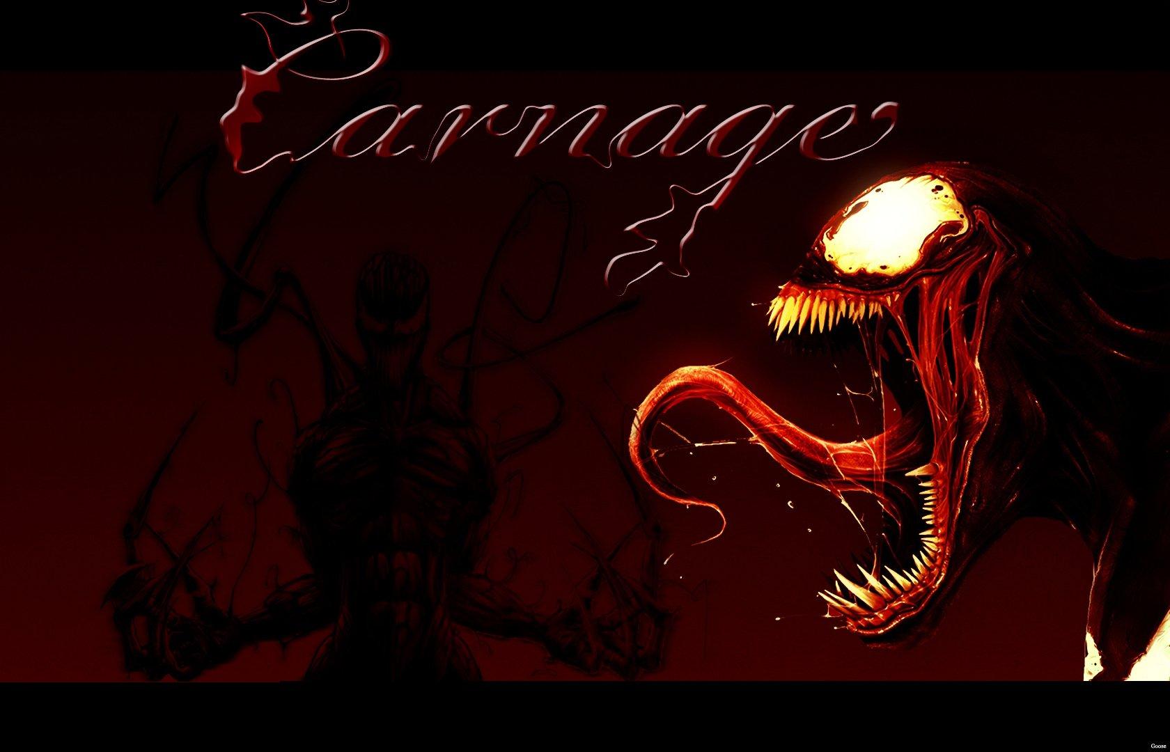 Fuentes de Informacin   Wallpaper HD Spiderman Venom Carnage 1680x1080