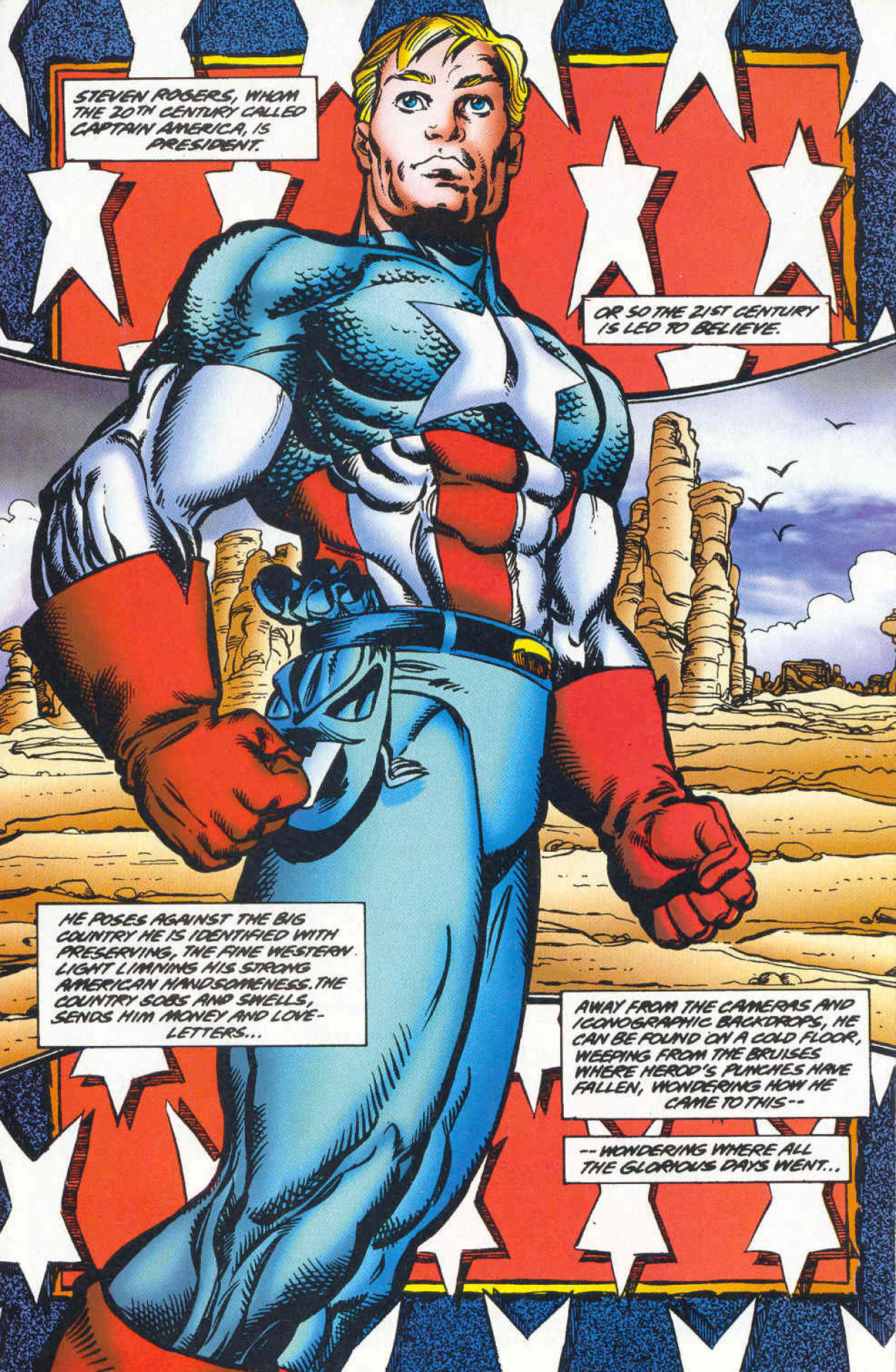 Captain America 2099 screenshots images and pictures   Comic Vine 1254x1920