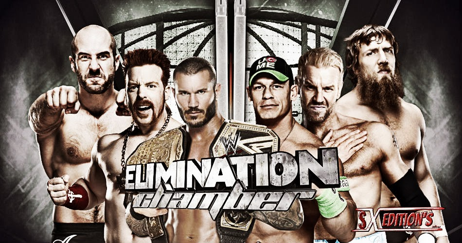 WWE Elimination Chamber 2014 Wallpapers   Wallpapers 950x500