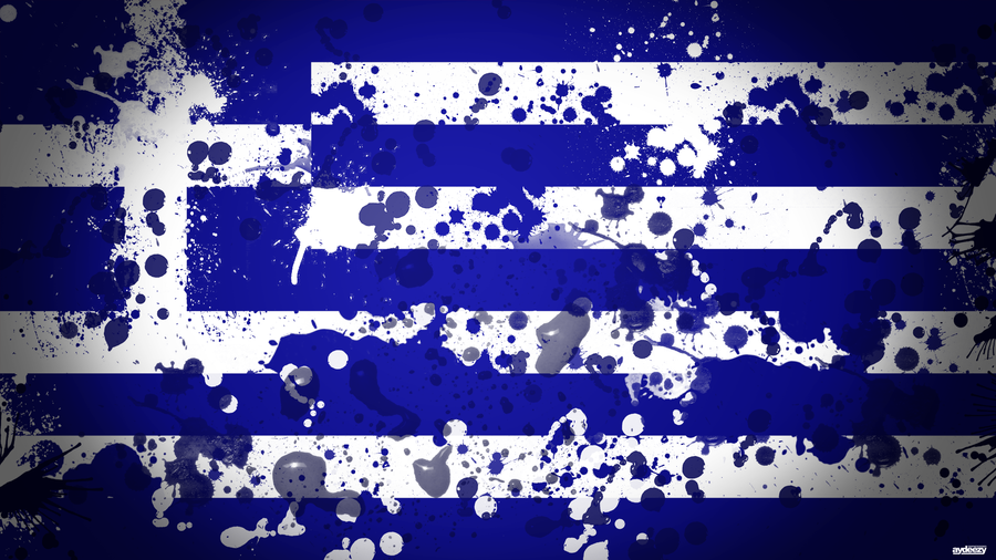 Greece Flag Wallpaper Greece flag by ay deezy 900x506