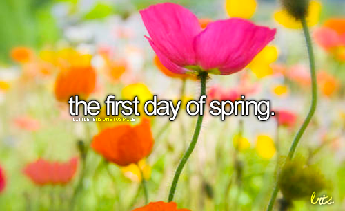 Happy First day of spring Quotes And Wallpaper Best Cool 500x305