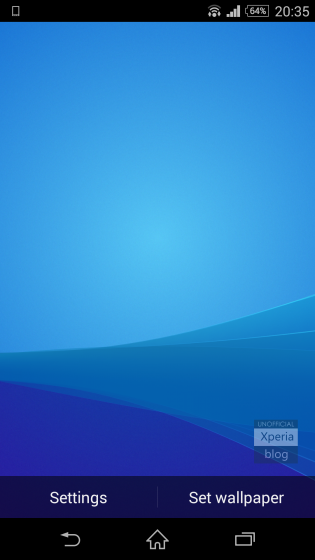 Download Xperia Z3 Plus Live Wallpaper now available for all