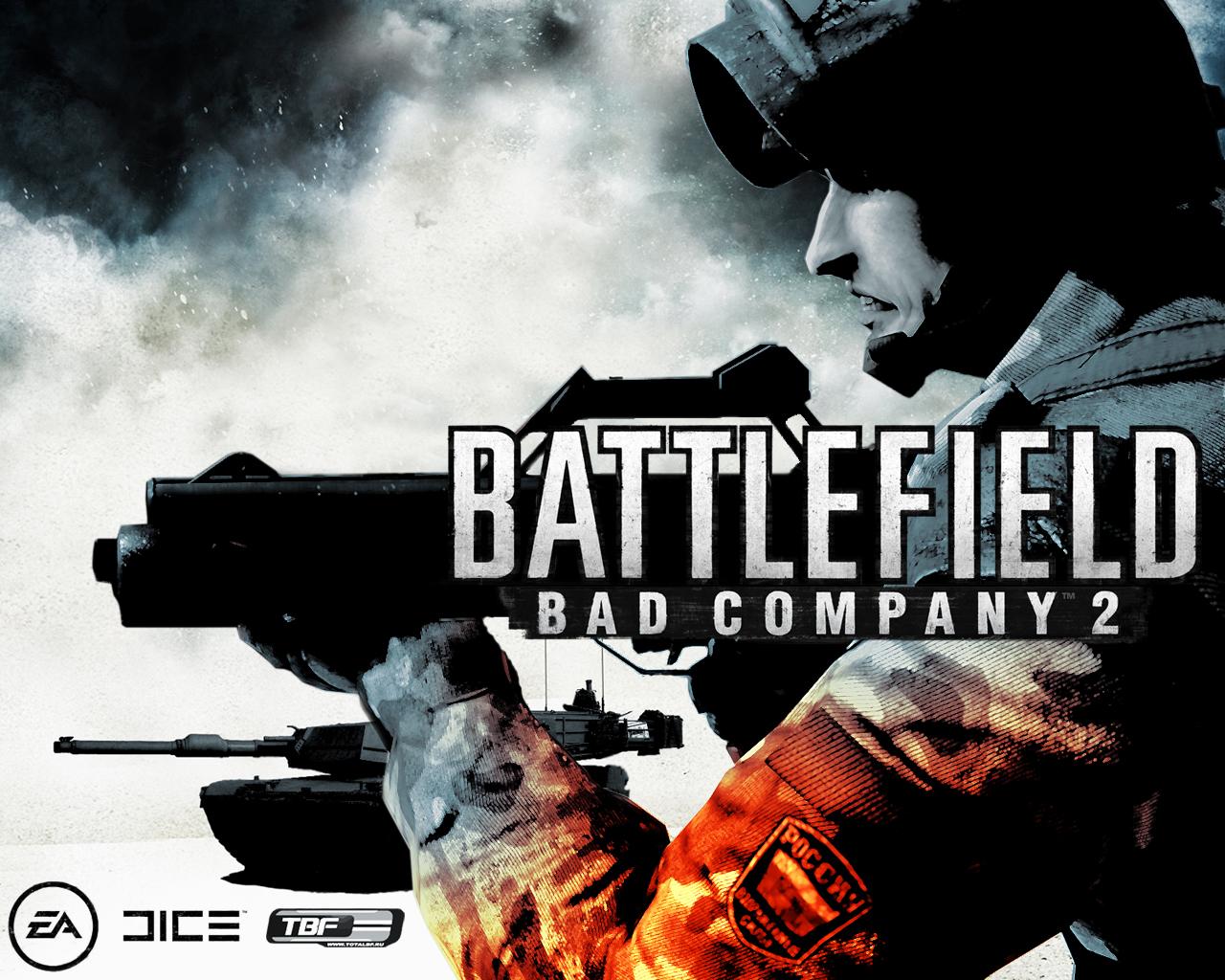 Cyber Game Wallpaper Battlefield Bad Company 2 HD Wallpaper 1280x1024