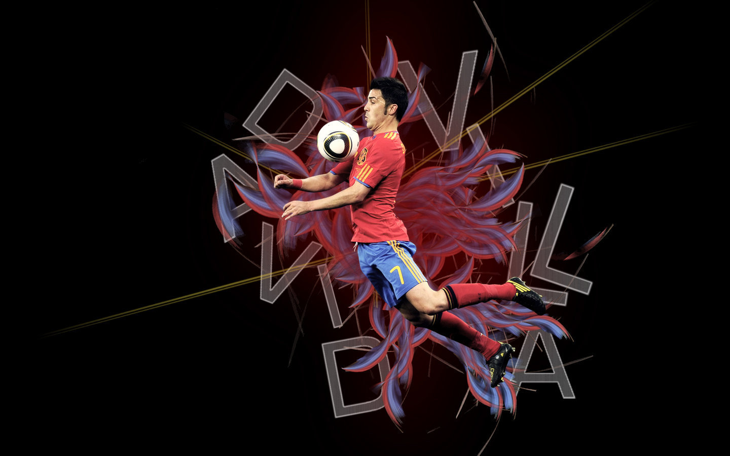 David Villa New HD Wallpapers 2013 All About HD Wallpapers 1440x900