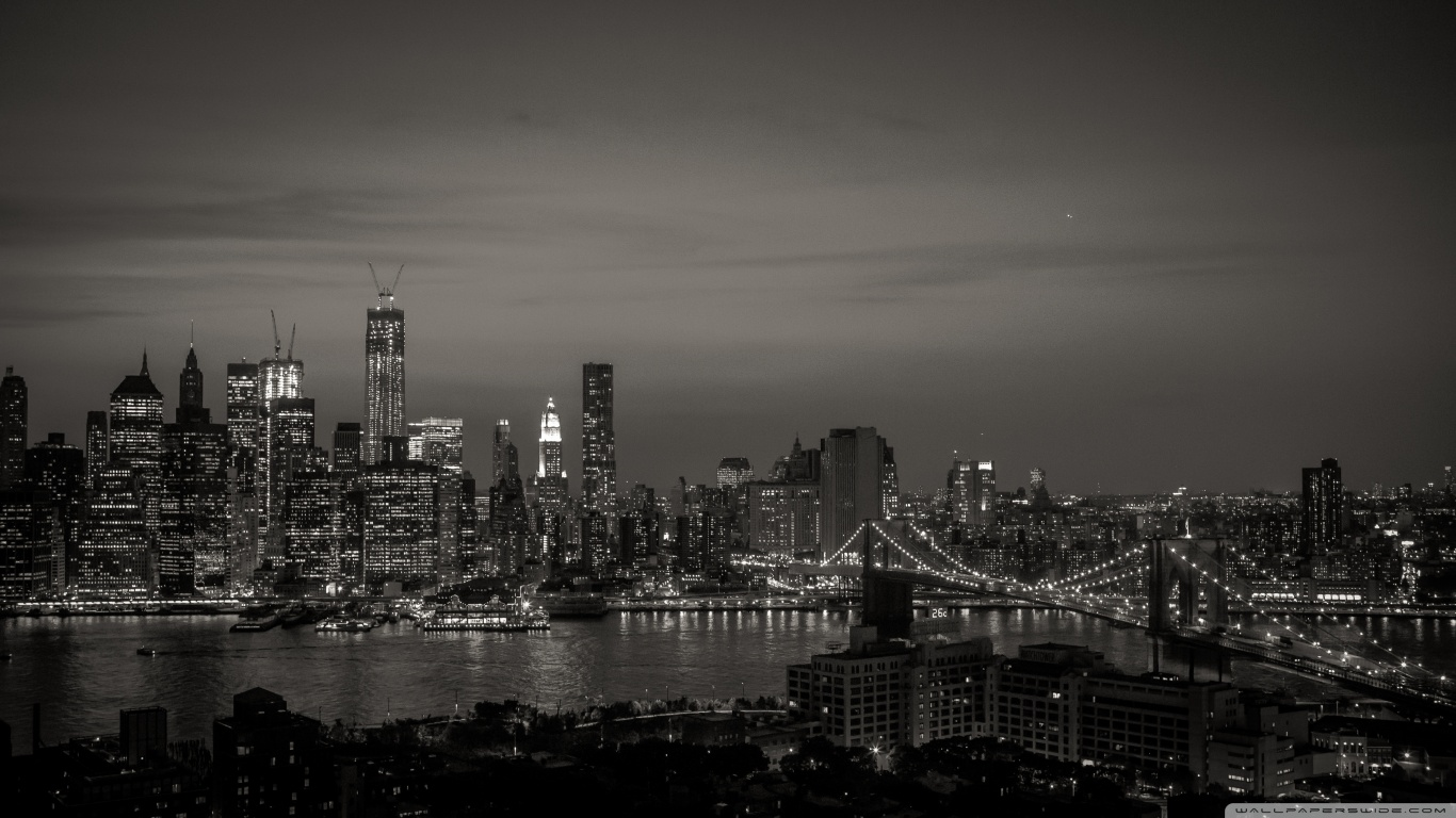 Free Download New York City Black And White 4k Hd Desktop
