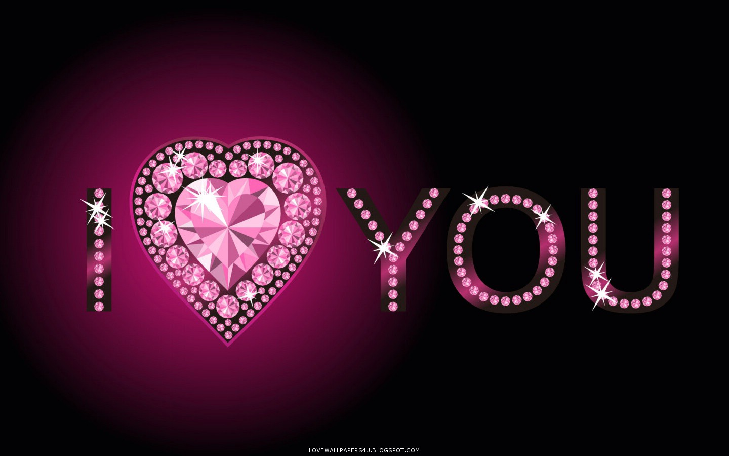 Diamonds Heart Love Wallpapers Romantic Wallpapers 1440x900