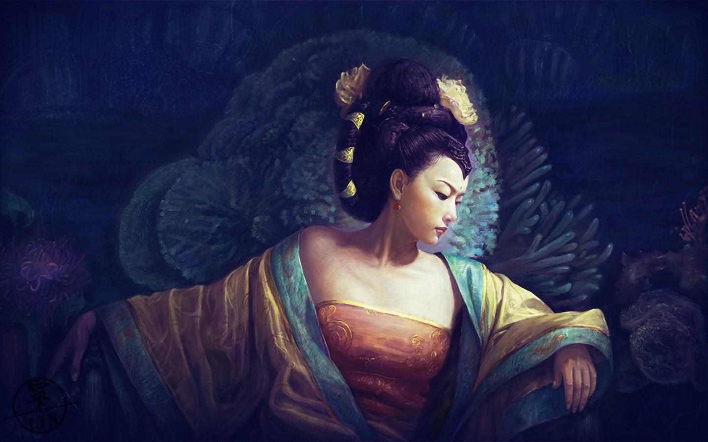 GEISHA WALLPAPER   125171   HD Wallpapers   [desktopinHQcom] 1440x900