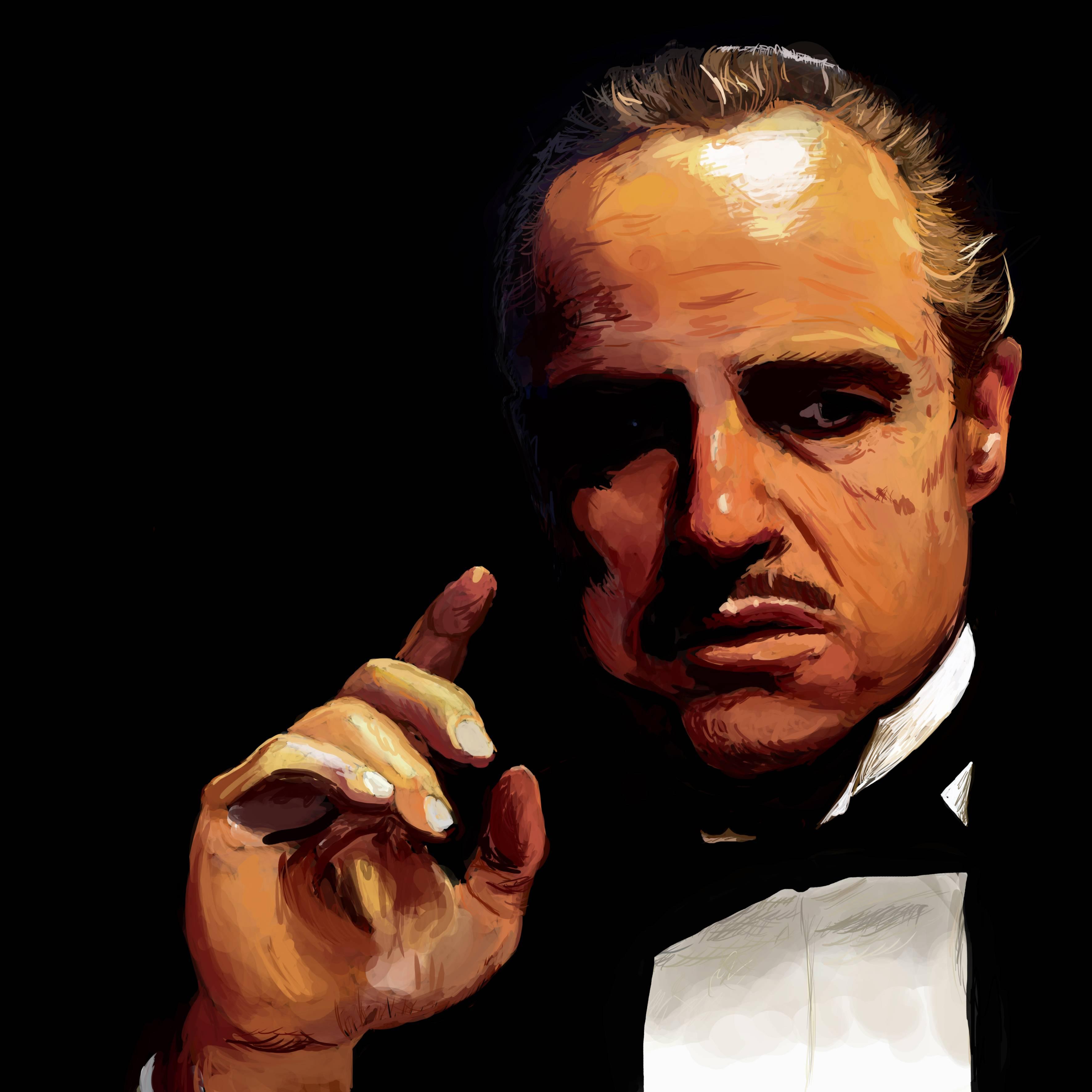 Vito Corleone Wallpapers 3543x3543