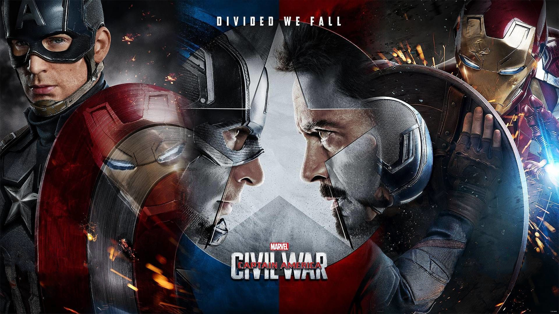 Team Captain America Civil War Movie And Character Posters Revealed 1920x1080