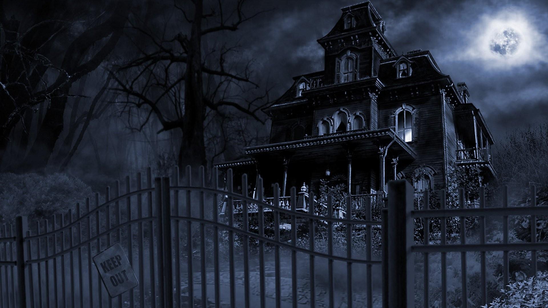 Haunted House wallpaper 1920x1080