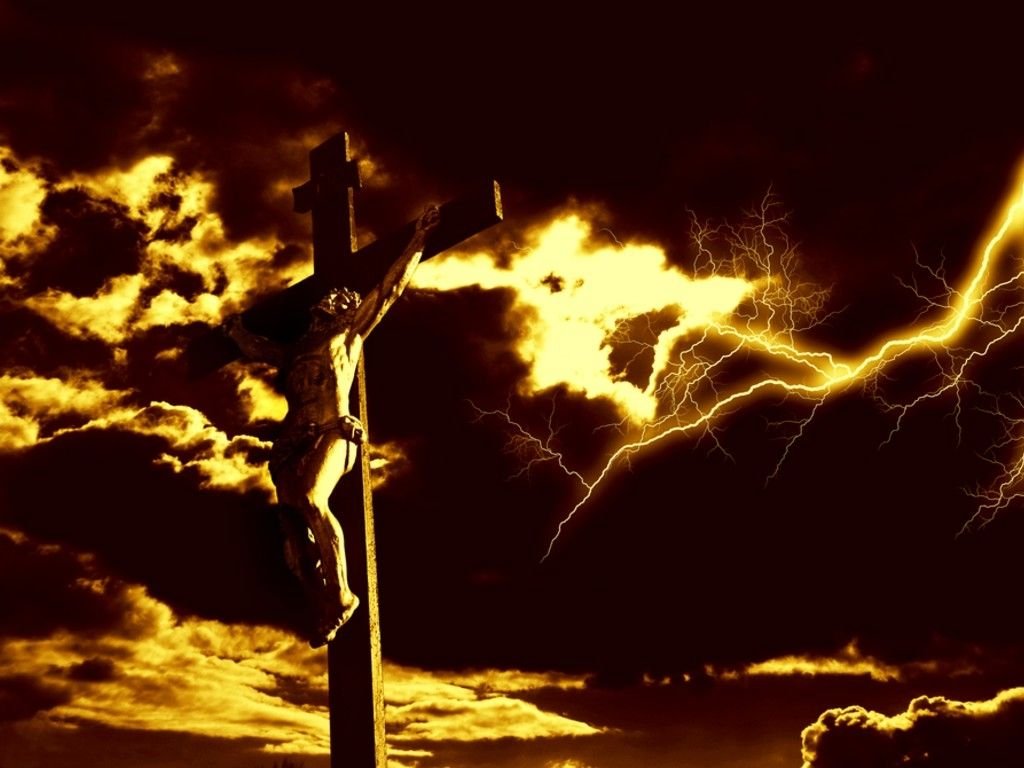 Jesus Christ Crucifixion Wallpaper Set 15 1024x768