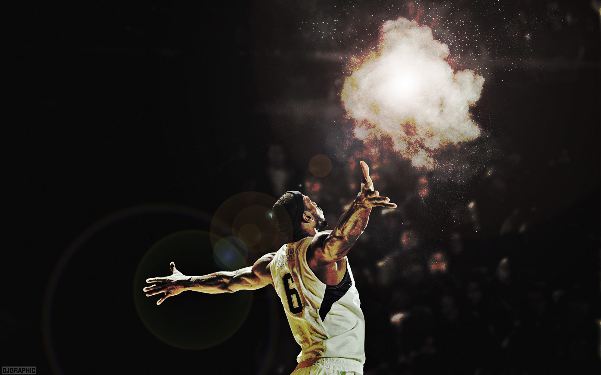 LeBron James by DJgraphic 1920 x 1200 1920x1200