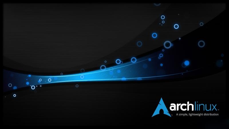 blueblack blue black dark linux arch linux arch 1920x1080 wallpaper 800x450