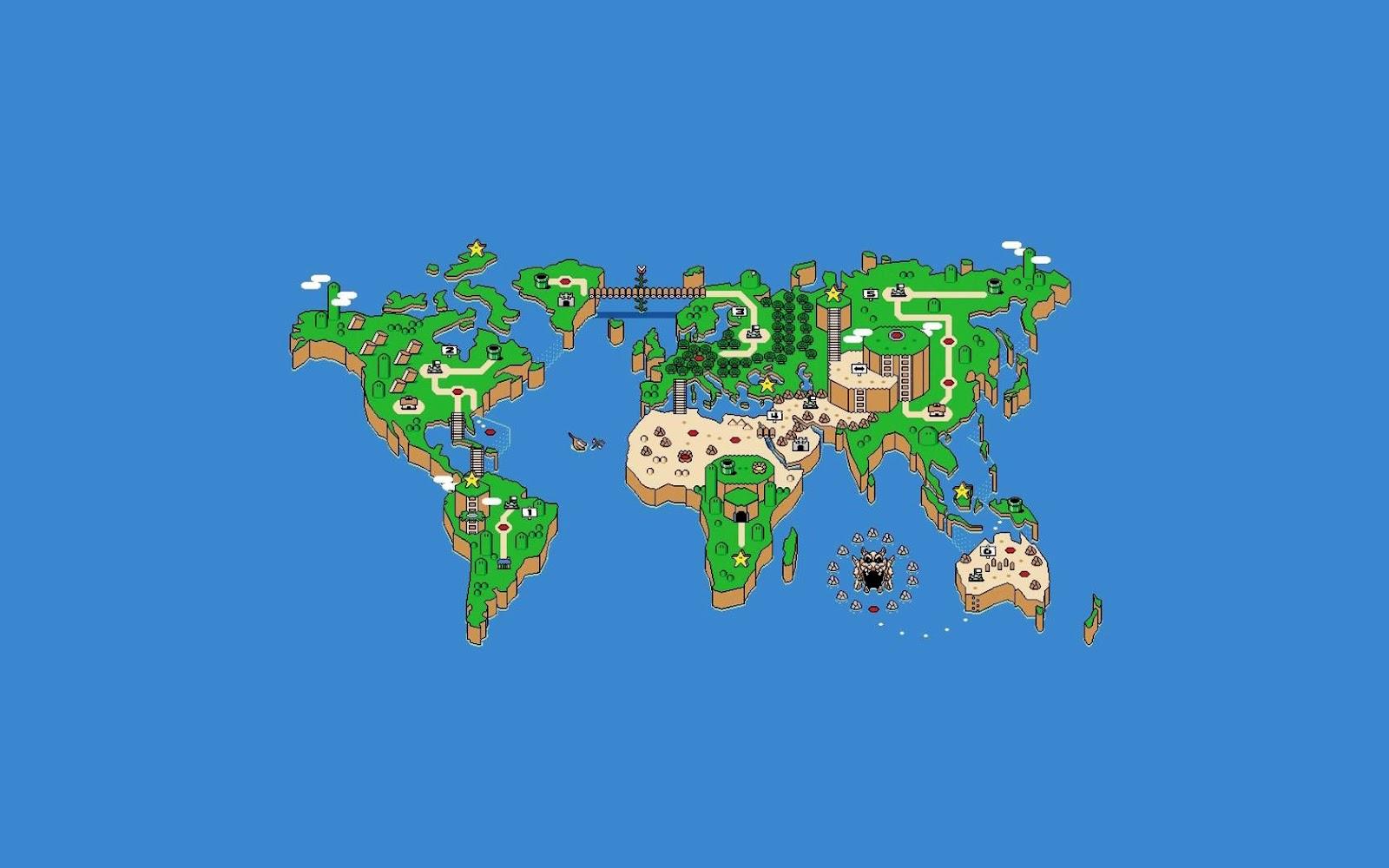 Map Wallpaper Designs 1600x1000