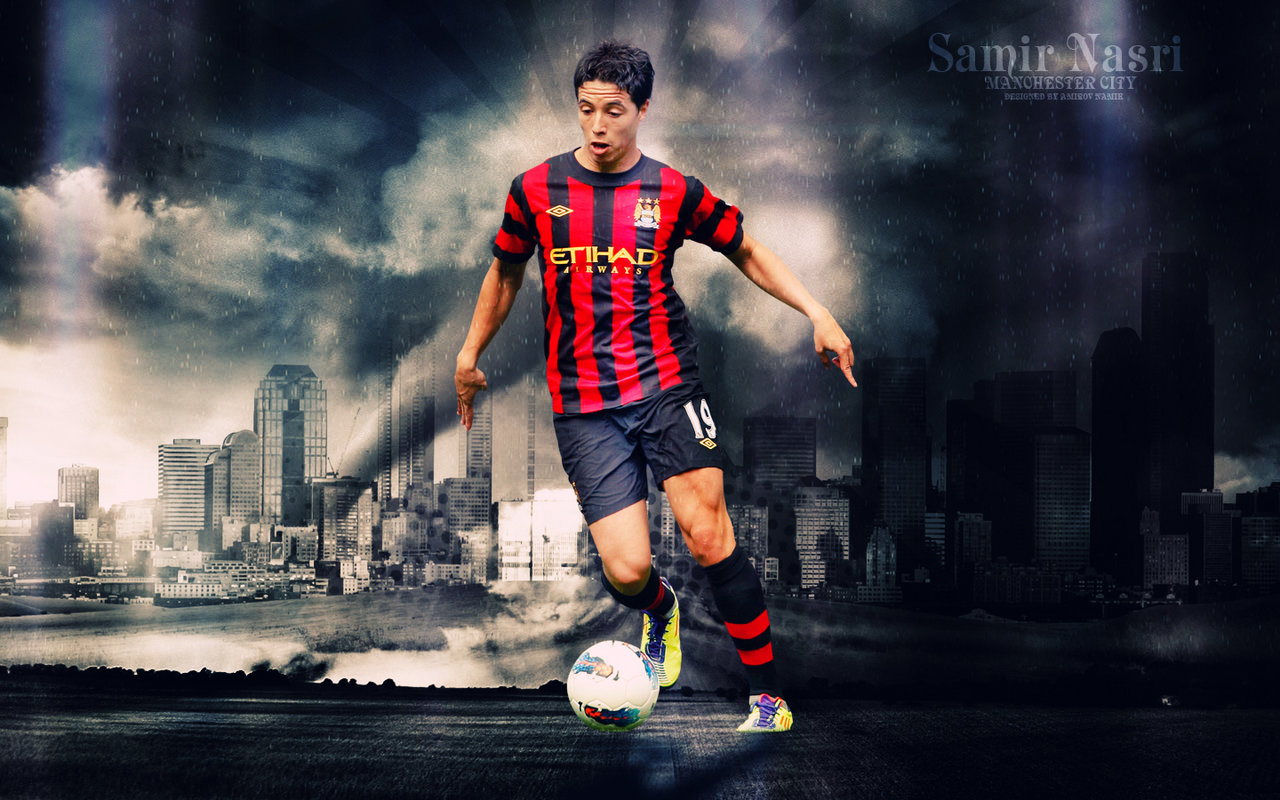 Free Download Samir Nasri Manchester City Wallpaper Hd 2014
