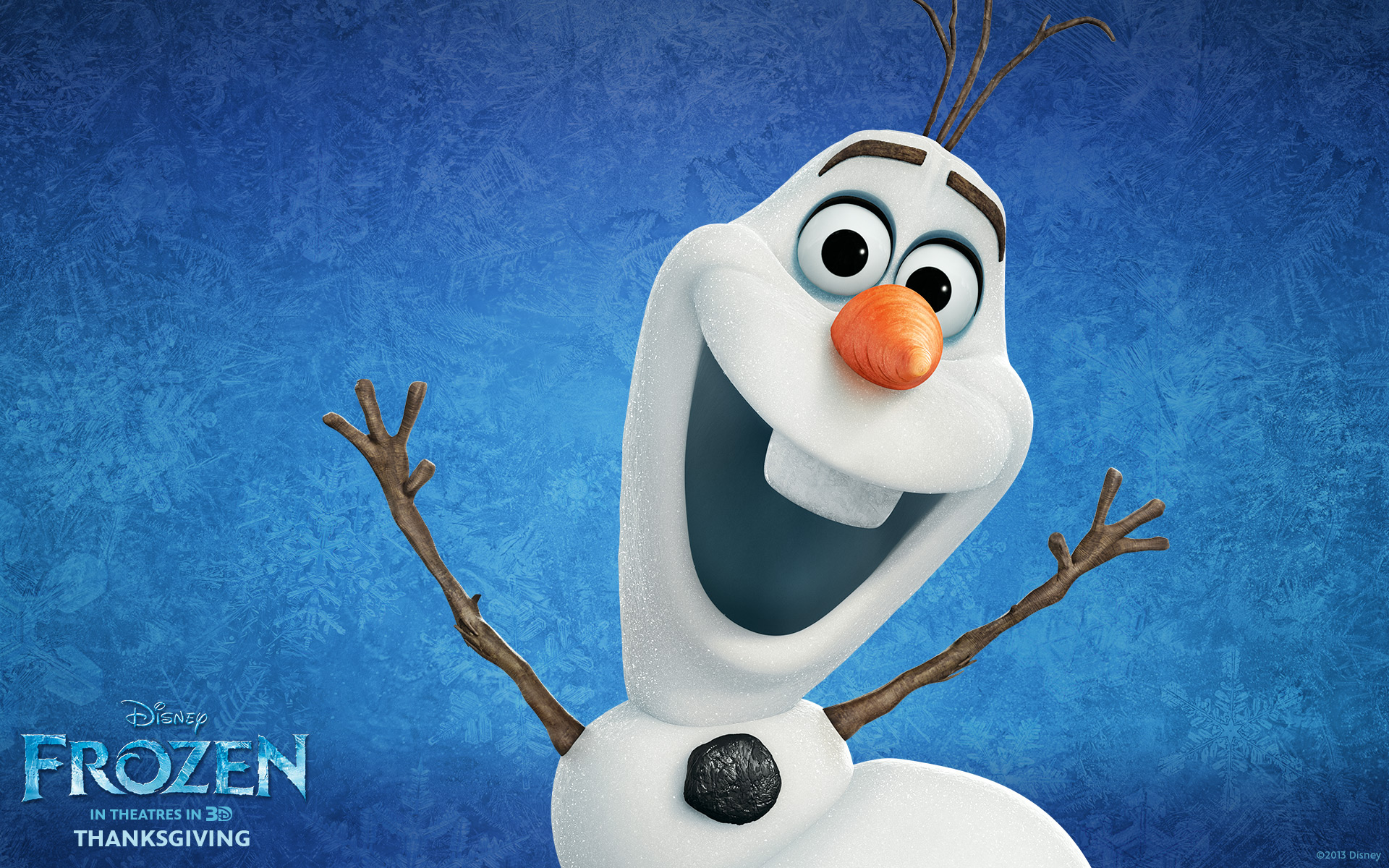 Disney Frozen Movie olaf wallpaper 1920x1200