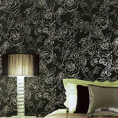 Silver Glitter Wallpaper Luxury Vintage Wall Paper Roll Gold Foil 500x500