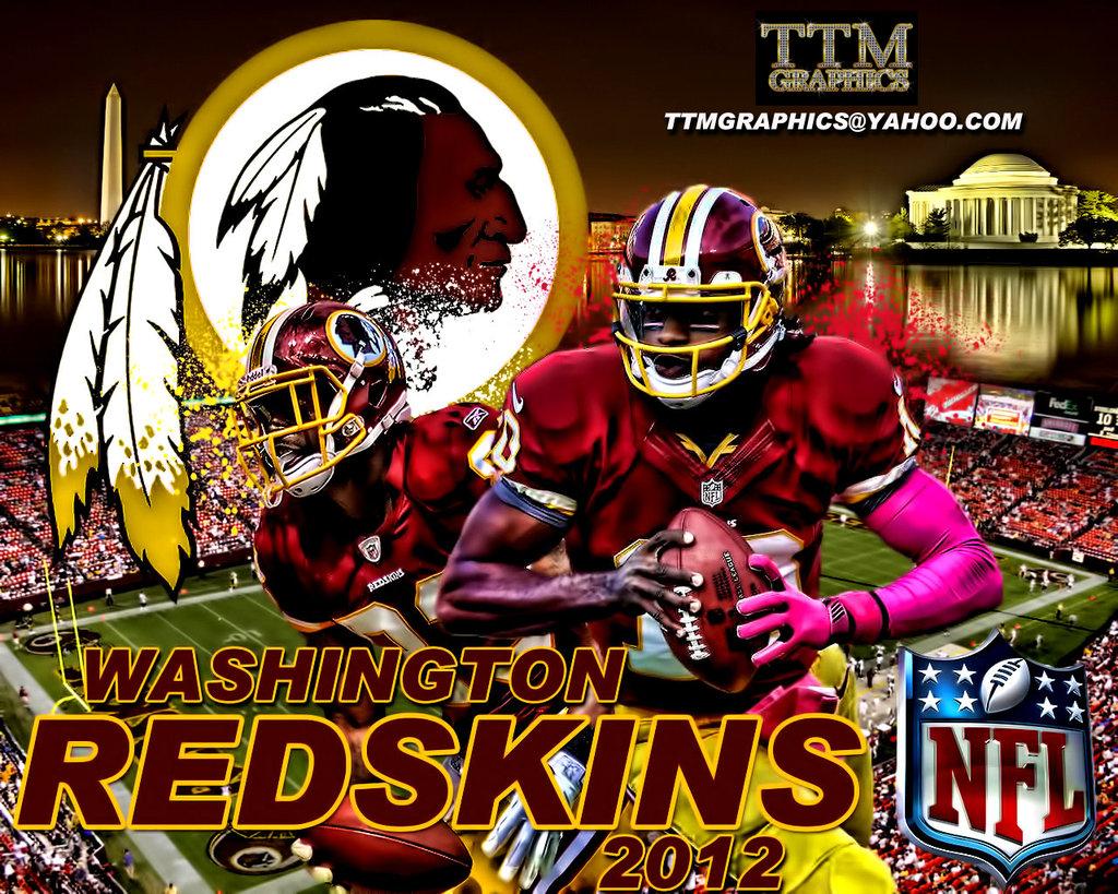 Washington Redskins background 1024x819