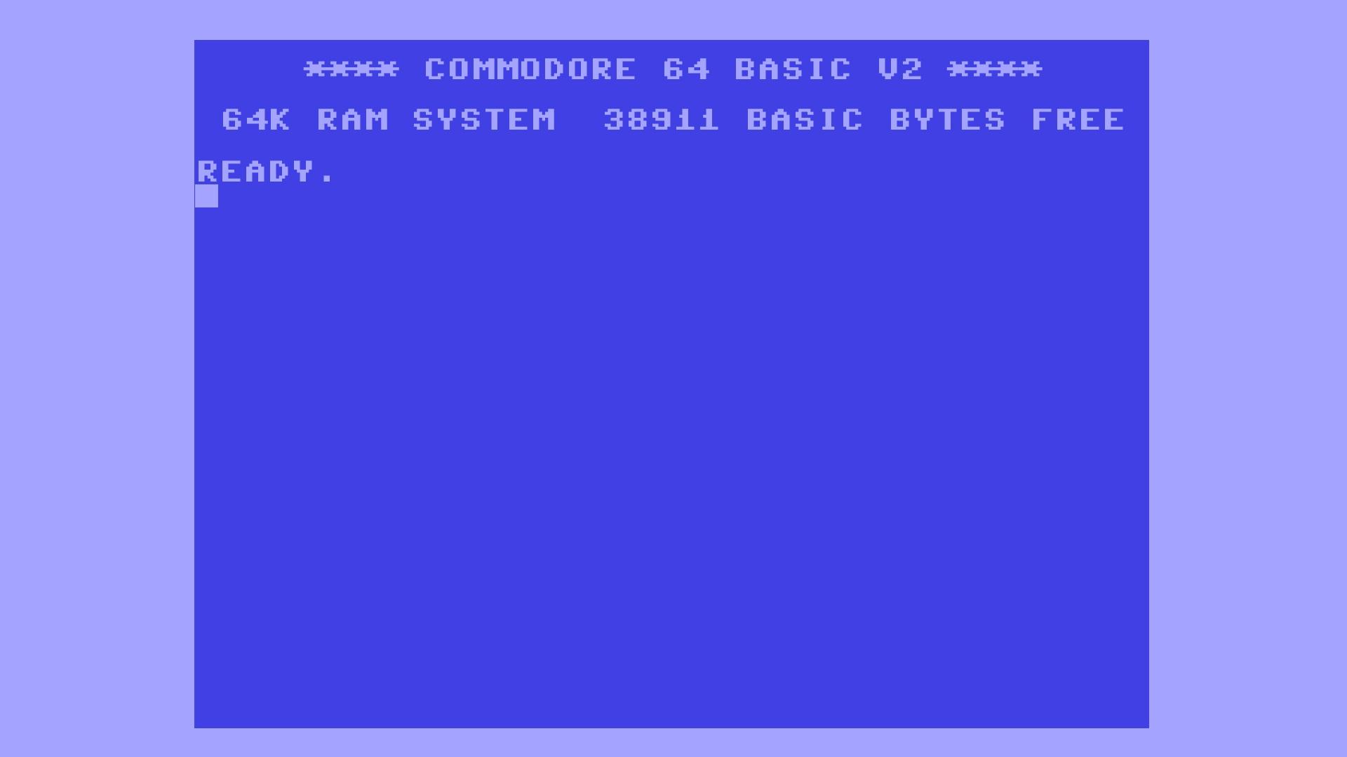 1920x1080 Retro C64 desktop PC and Mac wallpaper 1920x1080