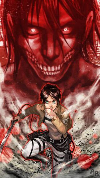 49 Attack On Titan Iphone Wallpaper On Wallpapersafari