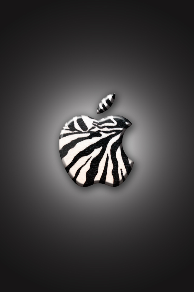 iPhone Wallpaper   Zebra by LaggyDogg 640x960