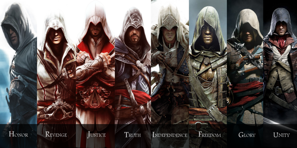 Free Download Assassins Creed Wallpaper All Assassins Good