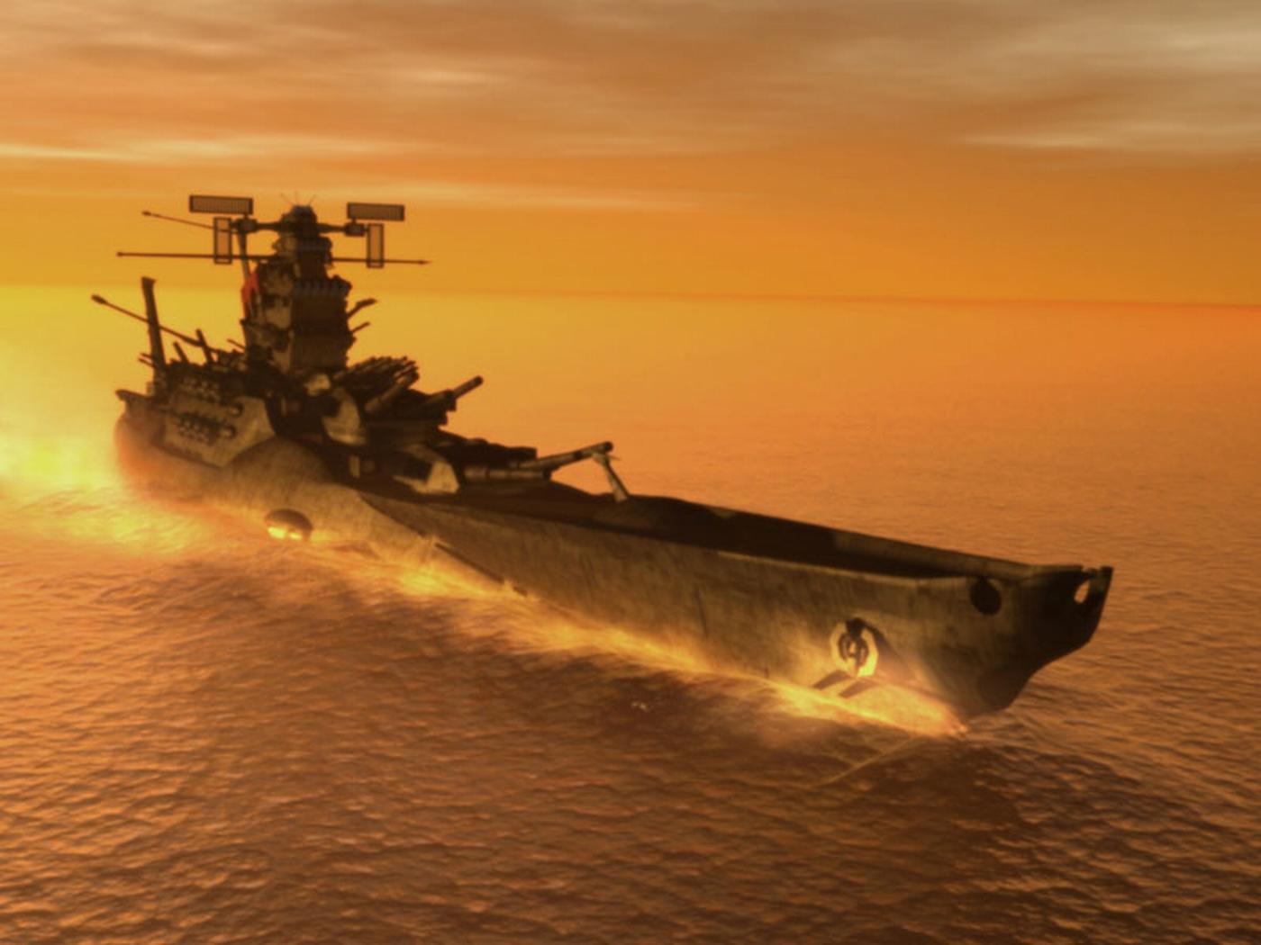 Battleshipyamatowallpaper 1400x1050