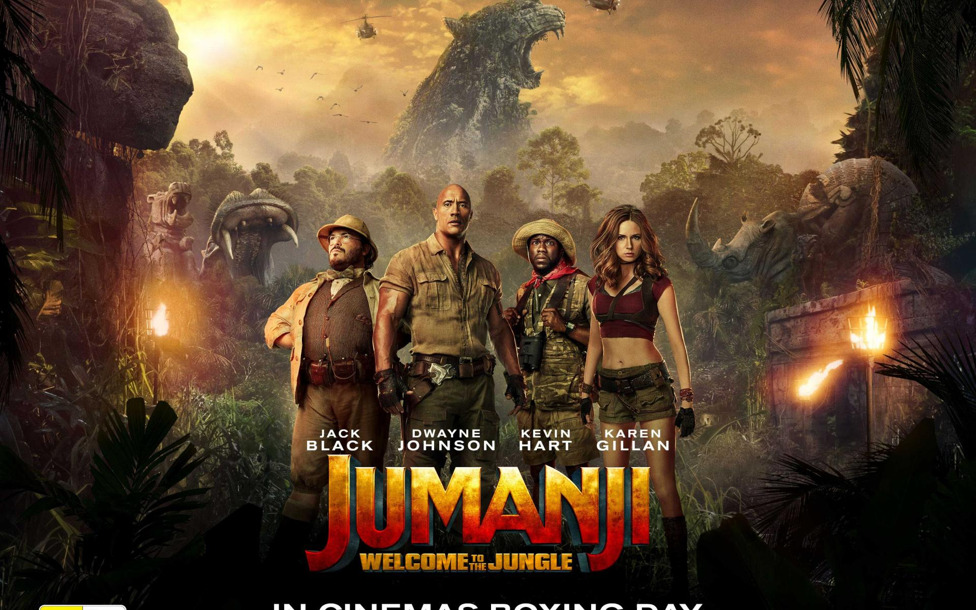 Jumanji Welcome to the Jungle Wallpaper 9   3071 X 2315 stmednet 1920x1200