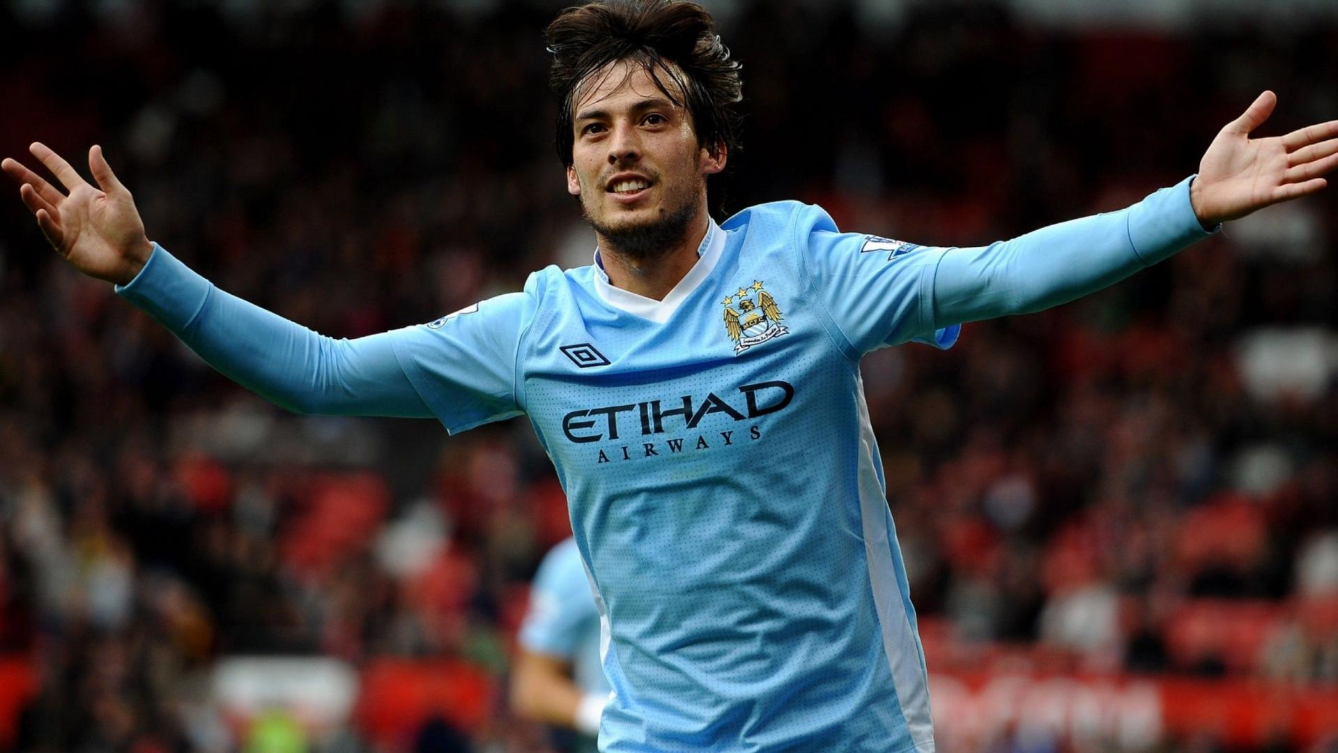 David Silva Football Players HD Wallpaper David Silva Football Players 1920x1080