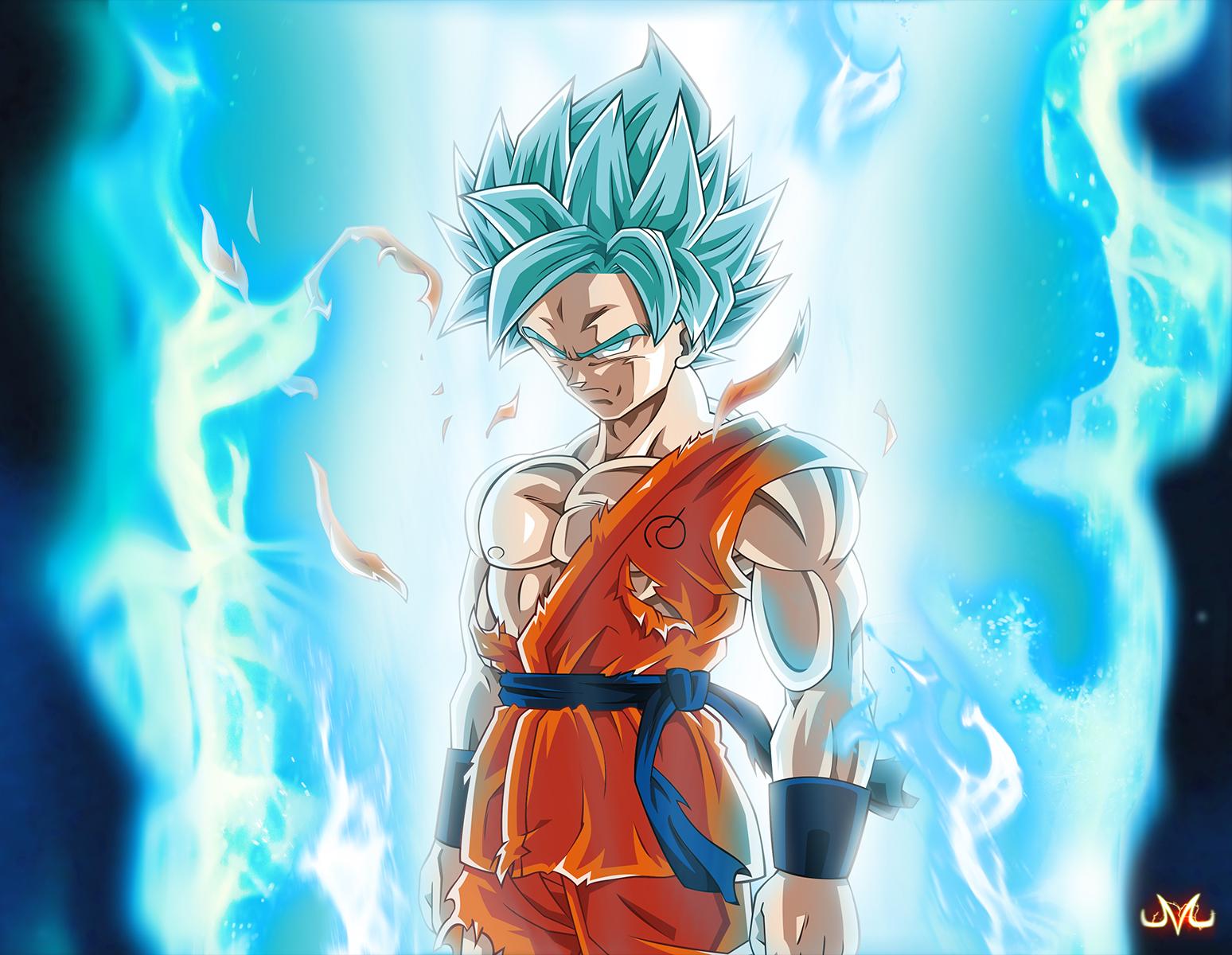 SSGSS Goku Wallpaper - WallpaperSafari