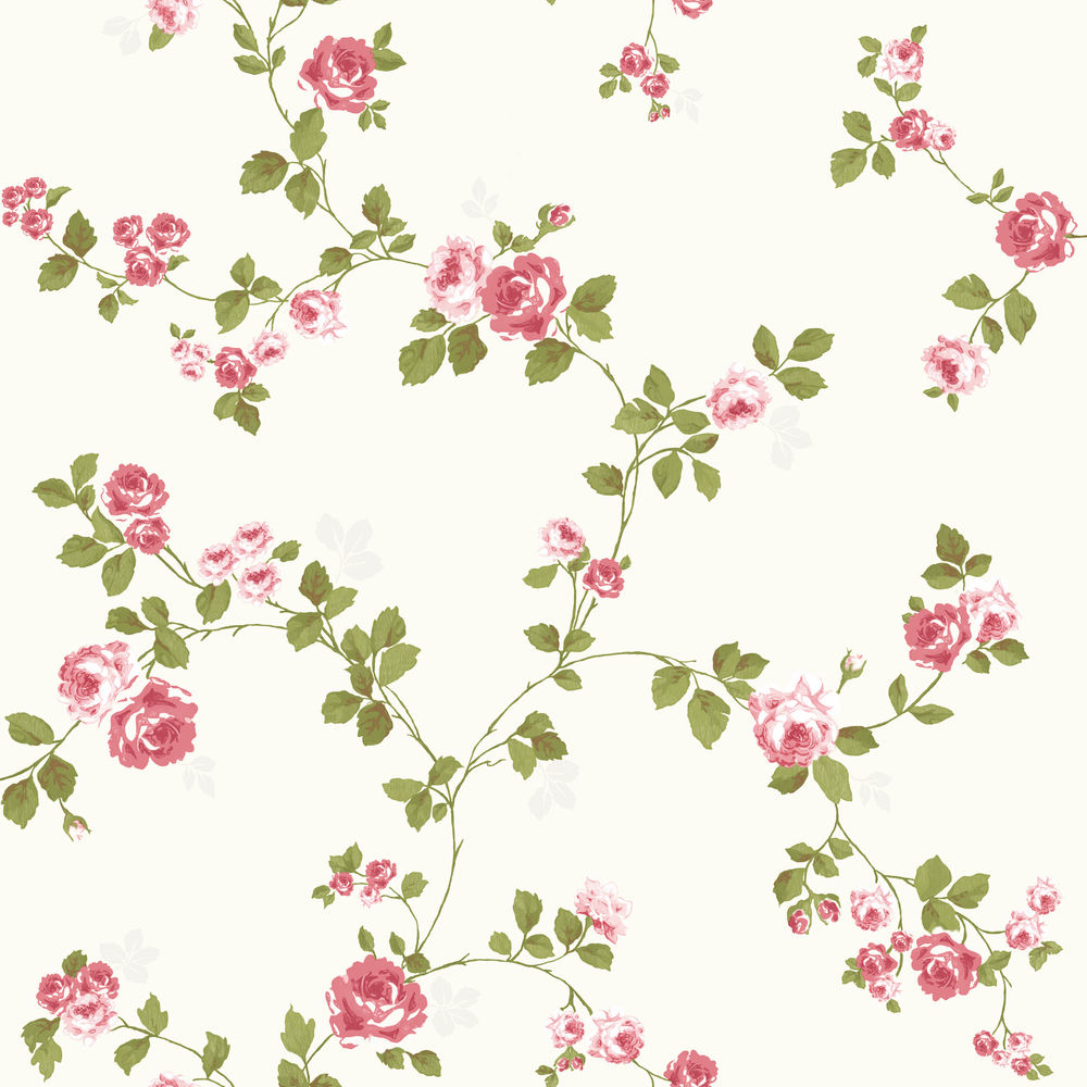 43 Shabby Chic Wallpaper Vintage Style On Wallpapersafari