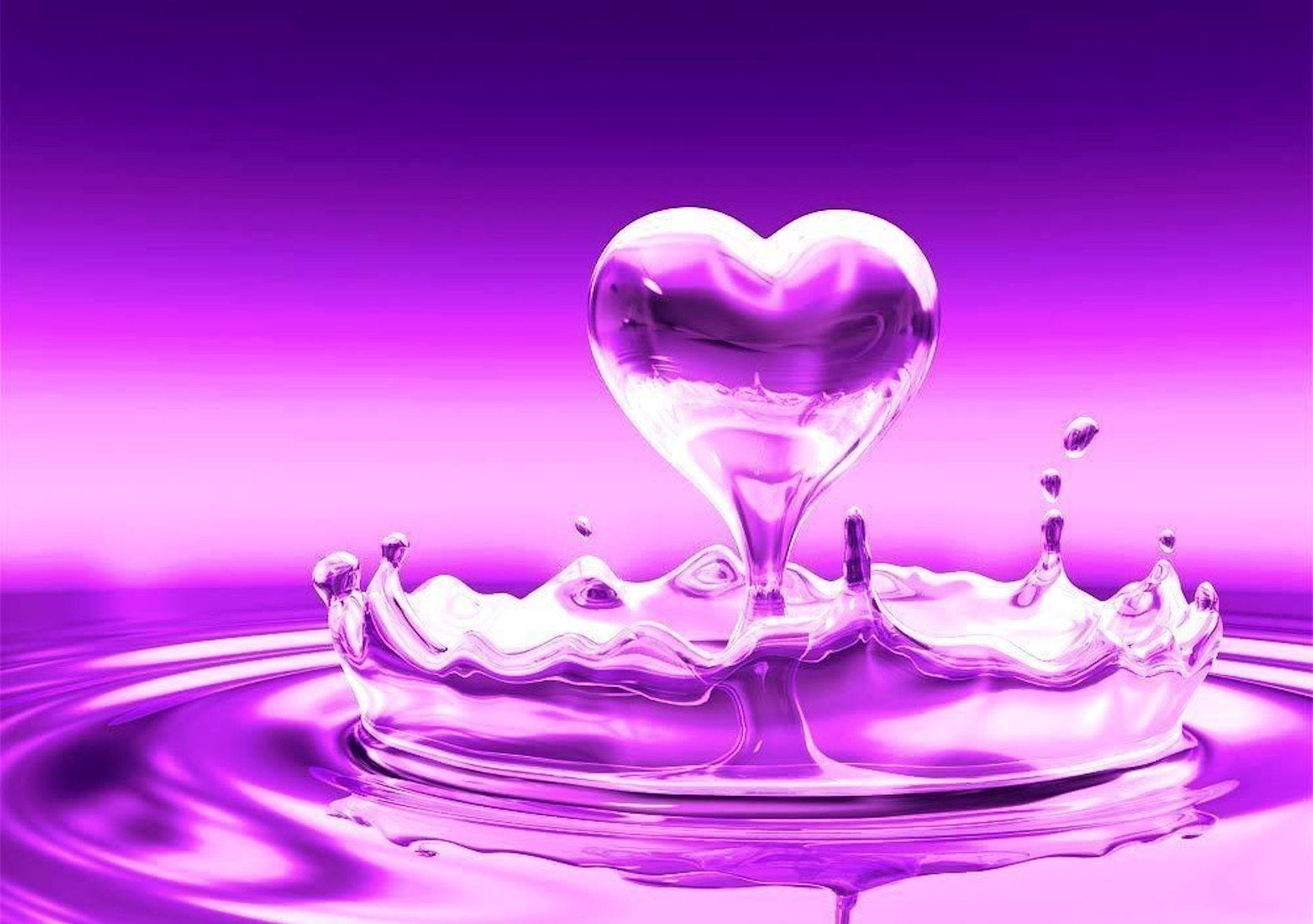 60 Purple and Pink Heart Wallpapers   Download at WallpaperBro 2000x1408