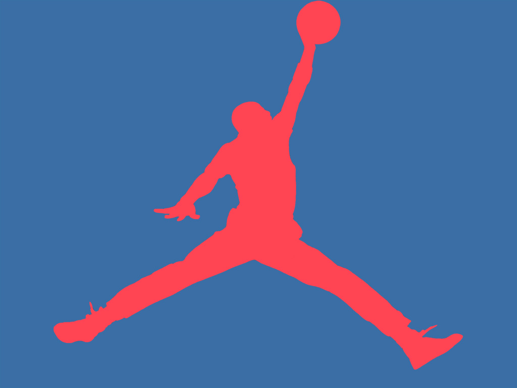 Jordan Flight Logo Wallpaper 1024 x 768 56kb win 2000 1024x768