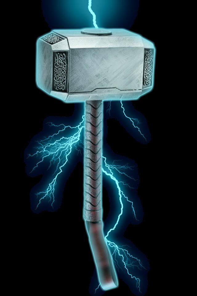 thor 39 s hammer wallpaper wallpapersafari
