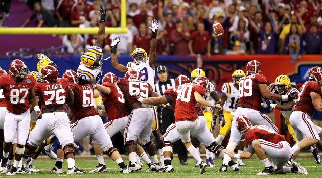 2012 BCS National Championship open thread Alabama v LSU   Turf 630x349