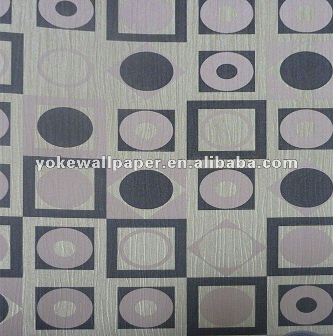 Modern Geometric Design Wallpaper Used In Homehotel   Buy Geometric 664x671
