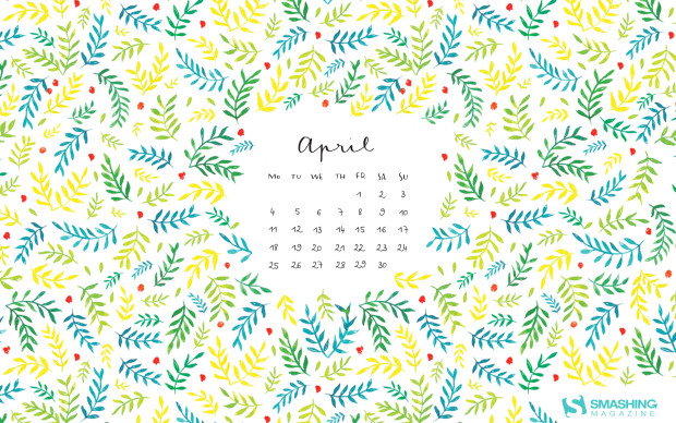 April quotes Desktop wallpaper calendar   Aprilie 2016 Touchofadream 620x388