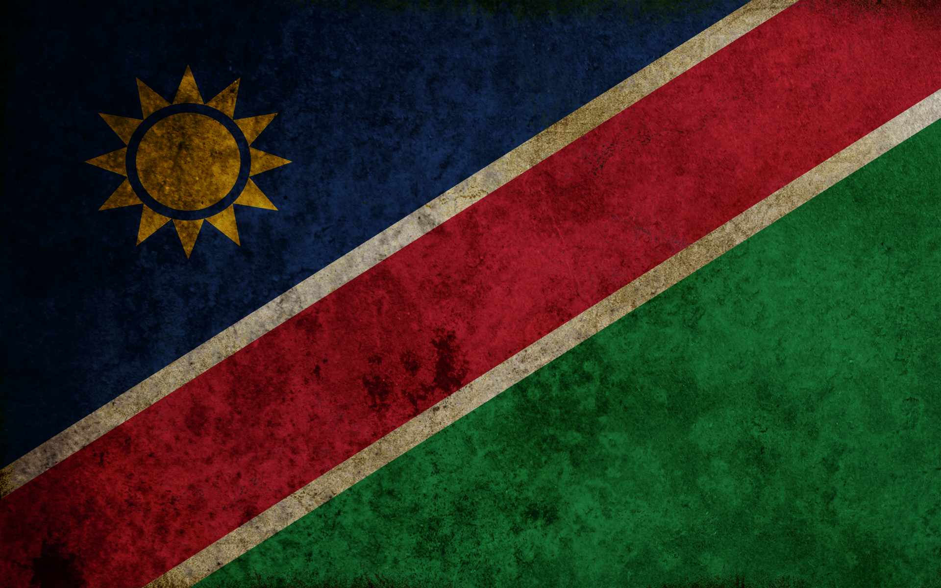 Flag Of Namibia HD Wallpaper Background Image 1920x1200 ID 1920x1200