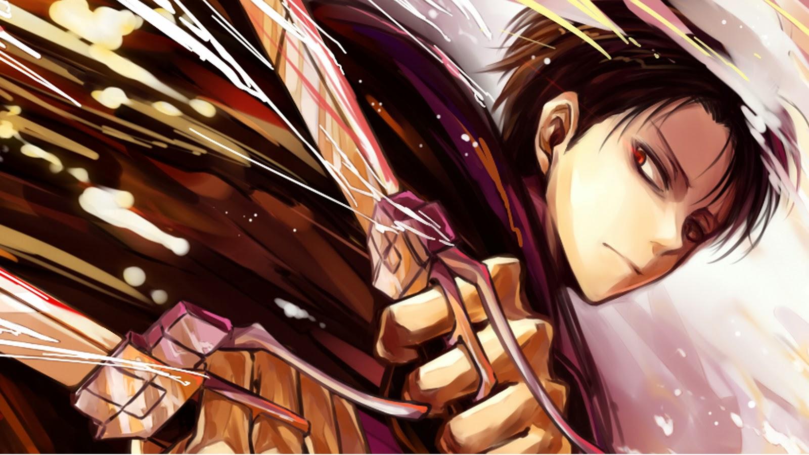 Attack on Titan Levi Anime Picture 9l Wallpaper HD 1600x900