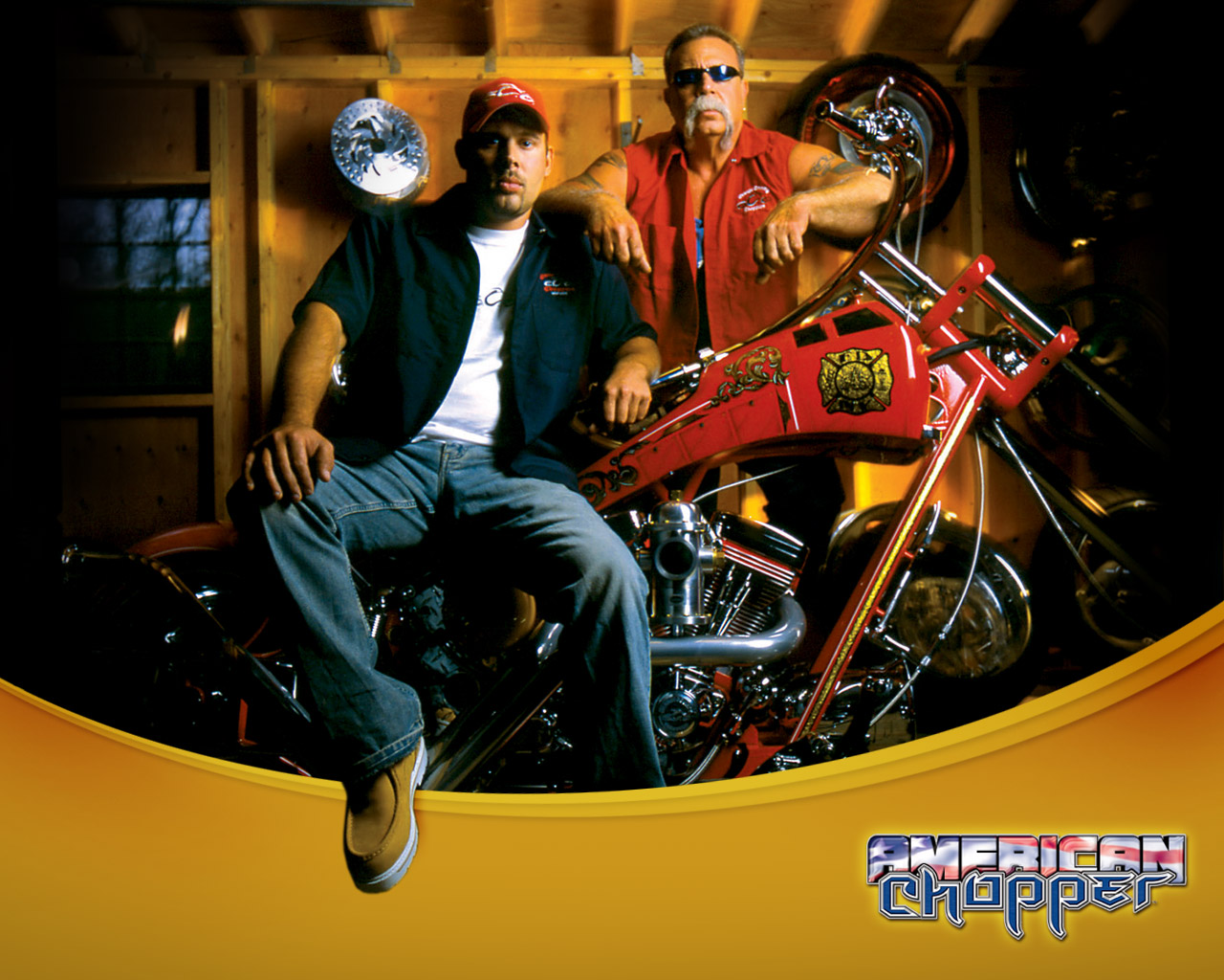 American chopper   Orange County Choppers Wallpaper 124426 1280x1024
