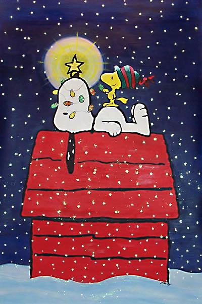 snoopy christmas 400x602